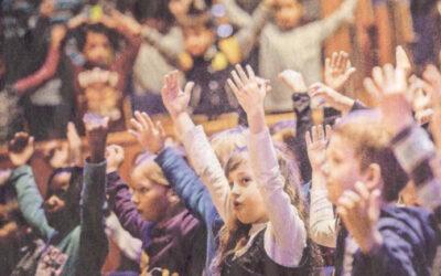13.500 Grundschüler singen in der Tonhalle